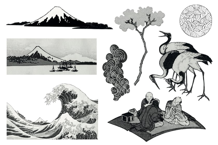 Tatouages - Hokusai et le japonisme