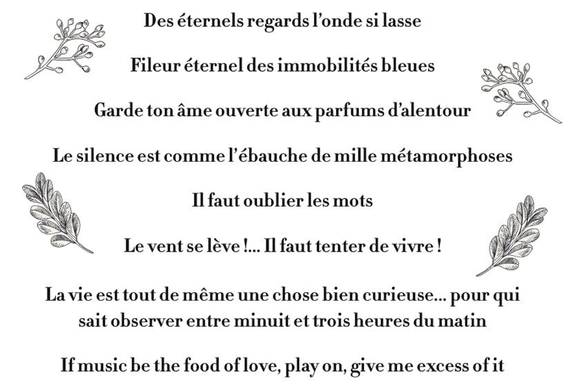 Tatouages - Tout un poème !